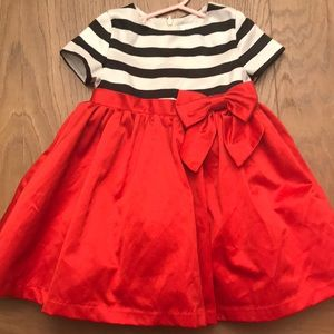 Toddler holiday dress, like new